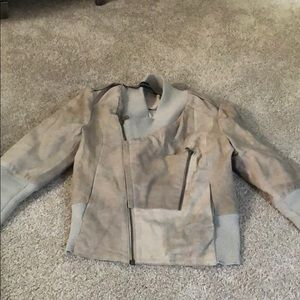 Improvd goat leather coat